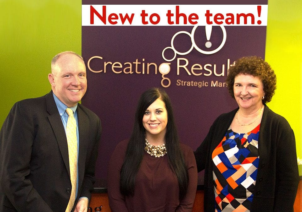 Introducing the Newest Members of the Creating Results Team