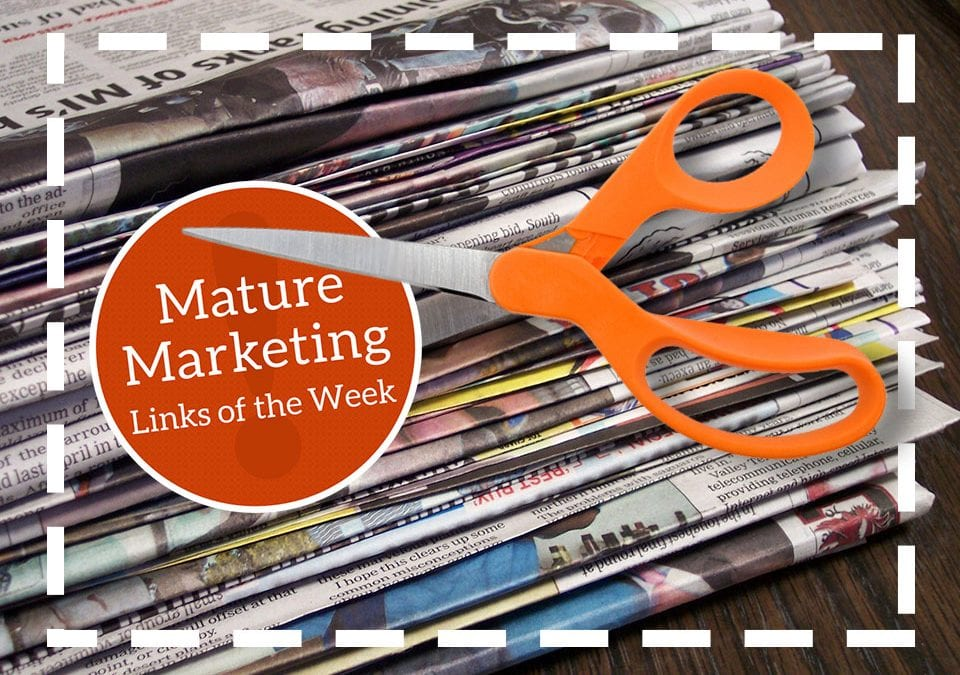 Mature Marketing Links of the Week – Newspaper Coupons Endure, Millennials Living with Mom and Dad