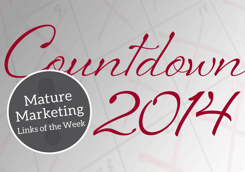 Mature Marketing Links of the Week – The Countdown