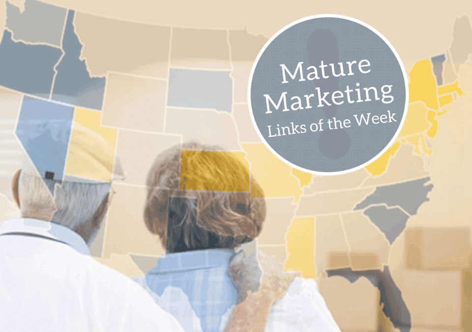 Mature Marketing Links of the Week – Investing in Senior Living