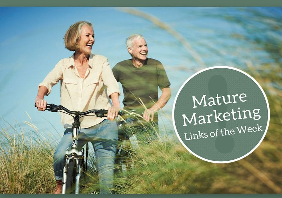 Mature Marketing Links of the Week — The Retirement Spectrum: Choices vs. Survival