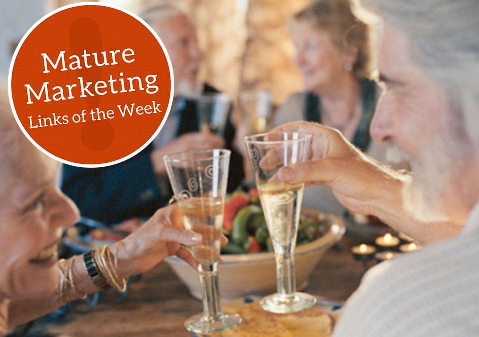 Mature Marketing Links of the Week – Aging, through wine-colored glasses