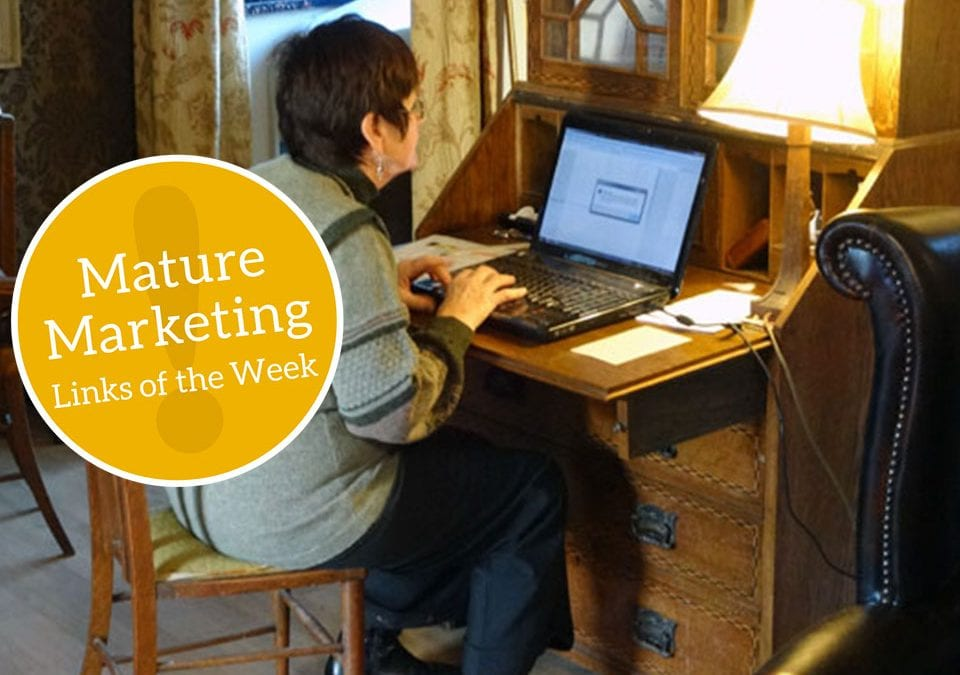 Mature Marketing Links of the Week – Promotional Preferences, A Weepy Wild One