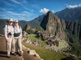 Road Scholar Couple Hiking