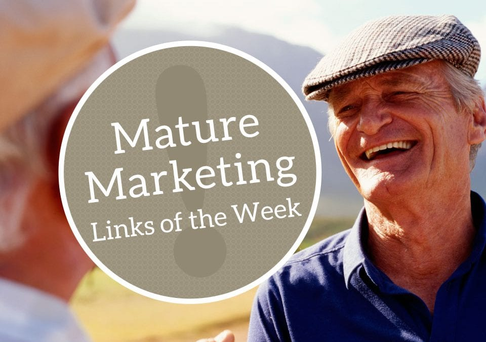 Mature Marketing Links of the Week: Aging in Place and Education