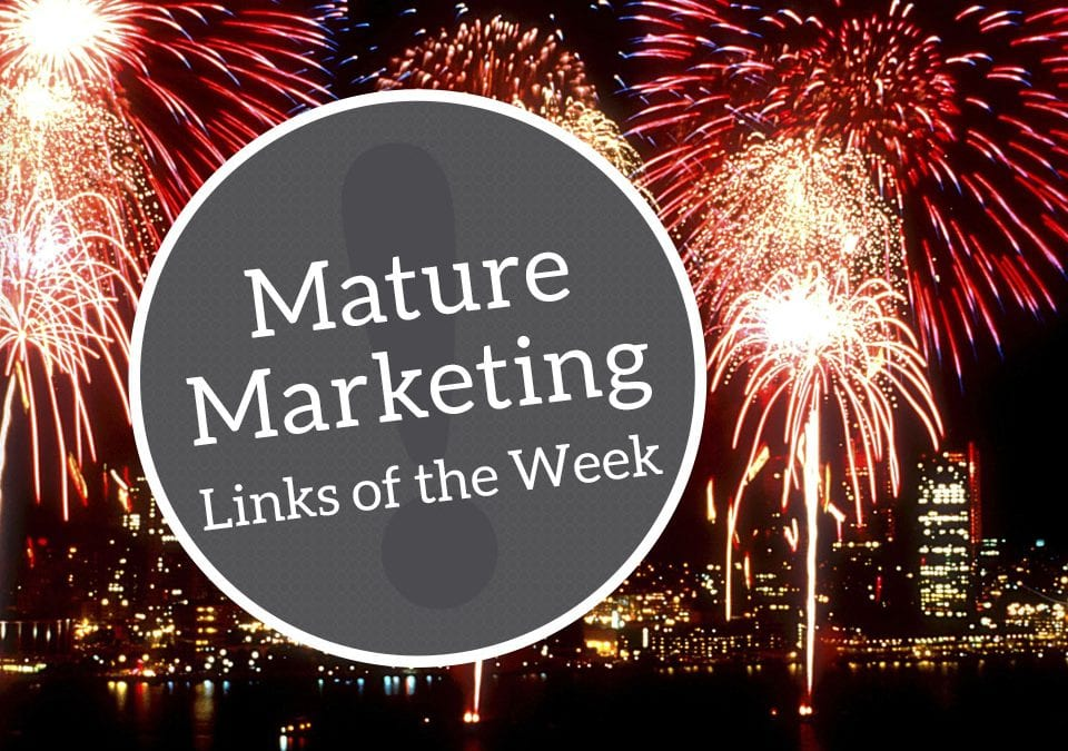 Mature Marketing Links of the Week: Sixty and Social