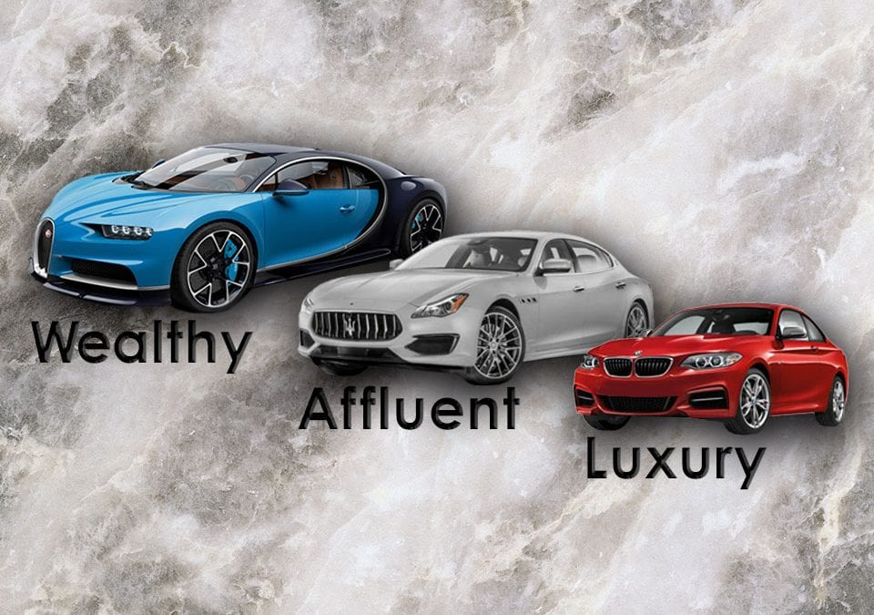 Wealthy, Affluent, Luxury — What's the Difference?