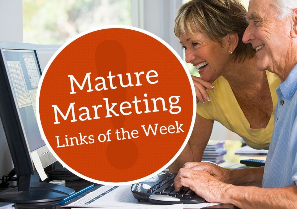 Mature Marketing Links of the Week – Caregiver Losses, Web Gains