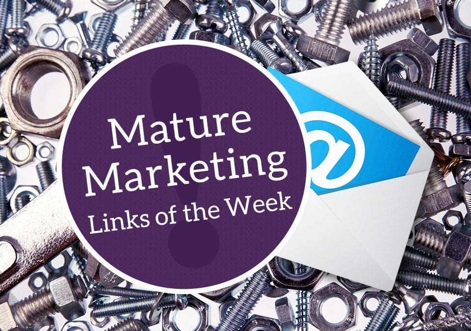 Mature Marketing Links of the Week: Change, Top Social Trends & Planning Ahead