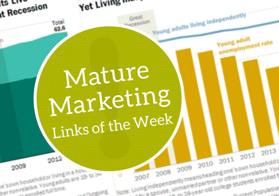 Mature Marketing Links of the Week – Multigenerational Living (Intentional and otherwise)