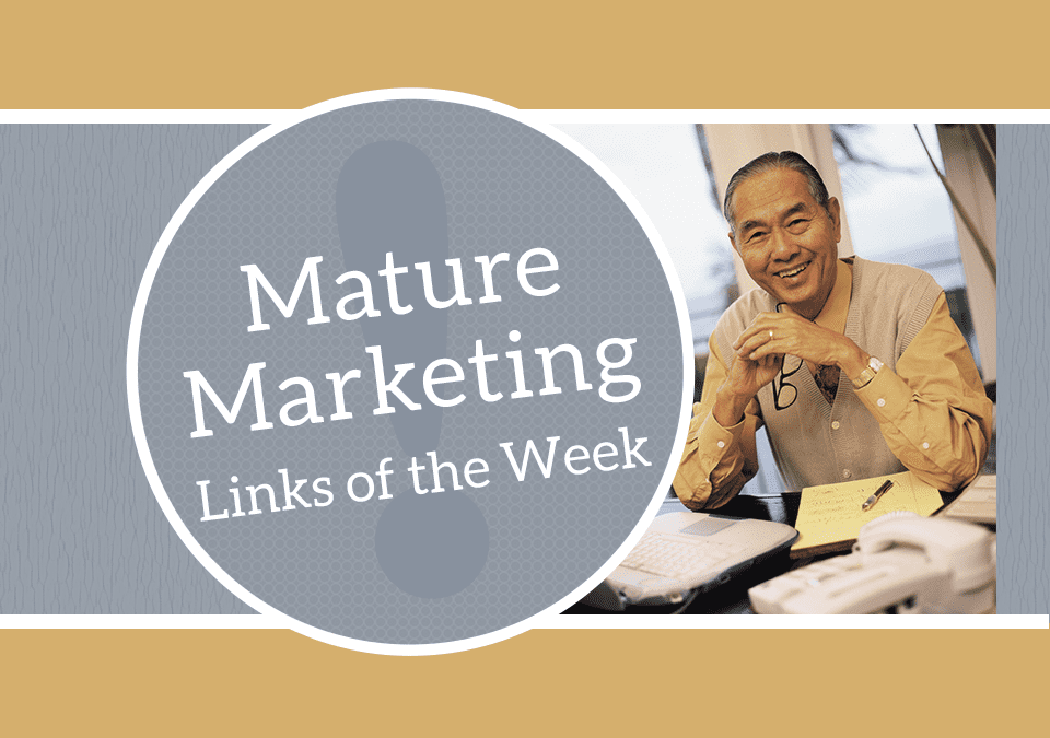 Mature Marketing Links of the Week – Elder Care – Who will facilitate? Who will fund?