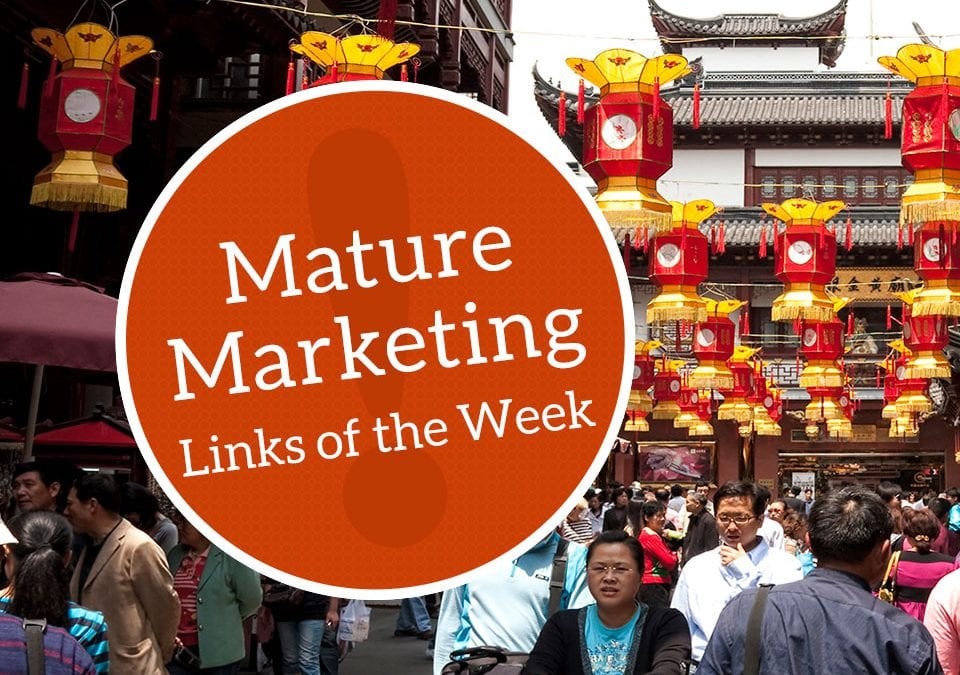 Mature Marketing Links of the Week: Increasing Trust and Tourism