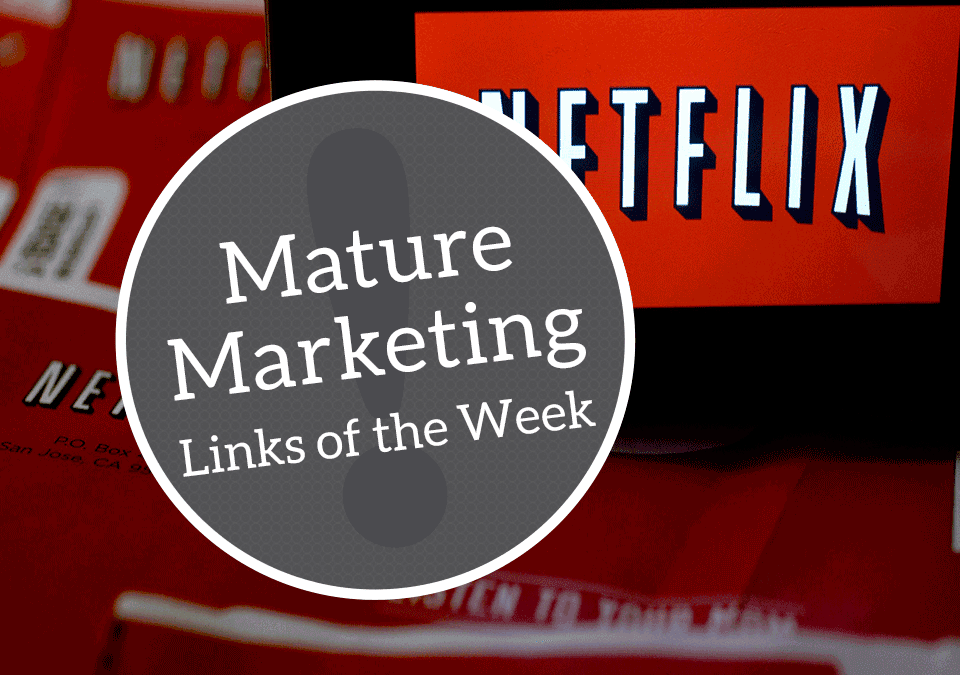 Mature Marketing Links of the Week – Volunteers & Video