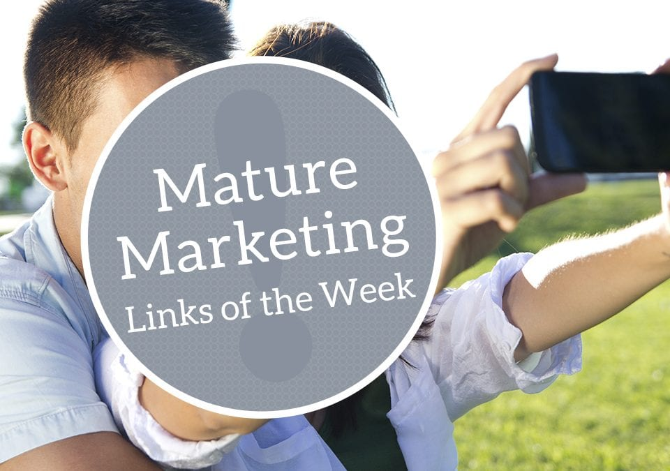 Mature Marketing Links of the Week – Emotional Boomers and Self-Flagellating Millennials