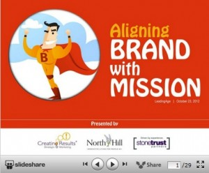 Aliging Brand with Mission