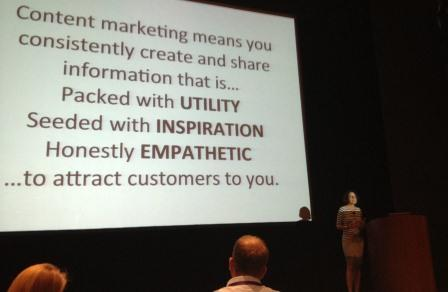 Ann Handley on Content Marketing at July 2013 Marketo Event in Boston