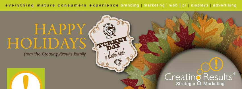 thanksgiving greeting - creating results marketing