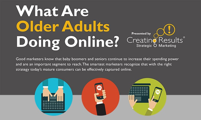 INFOGRAPHIC: What are Older Adults Doing Online?