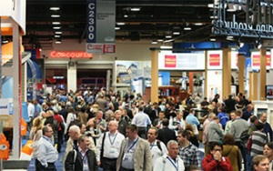 Crowds at International Builders' Show, 2015