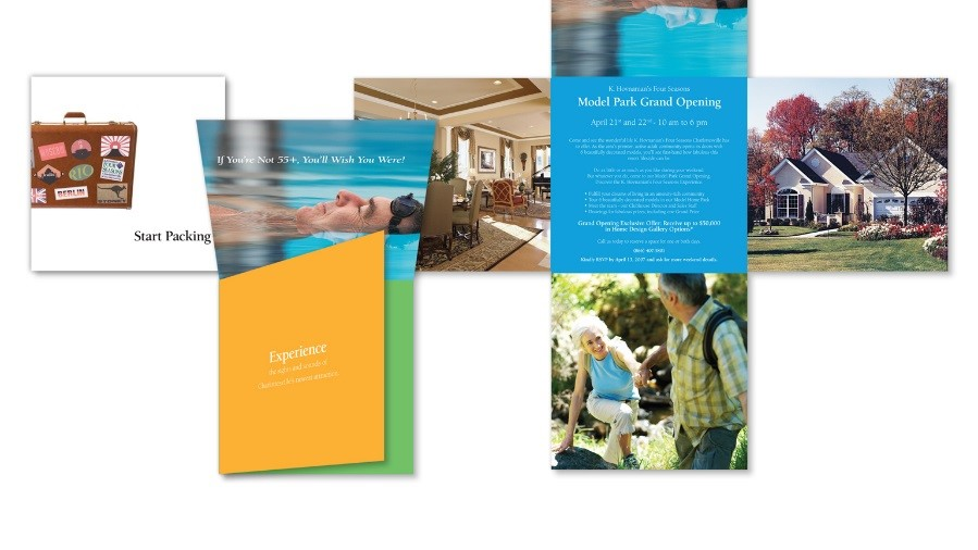 sample direct mail / direct marketing campaign that influenced consideration