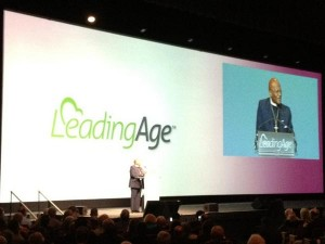 Archbishop Desmond Tutu at LeadingAge conference in Denver October 2012