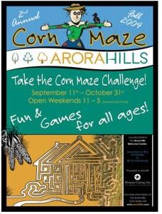 corn maze PR event real estate