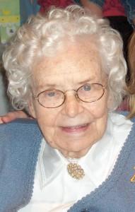 Celebrating 90 year olds - my Nana