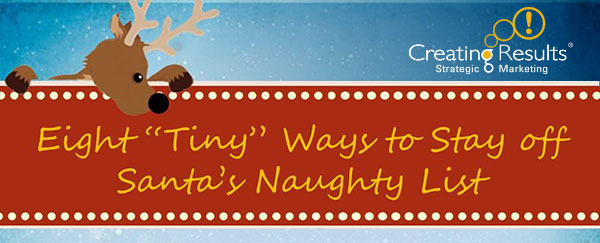 Ways 50-Plus Marketing pros can Avoid Santa's Naughty List