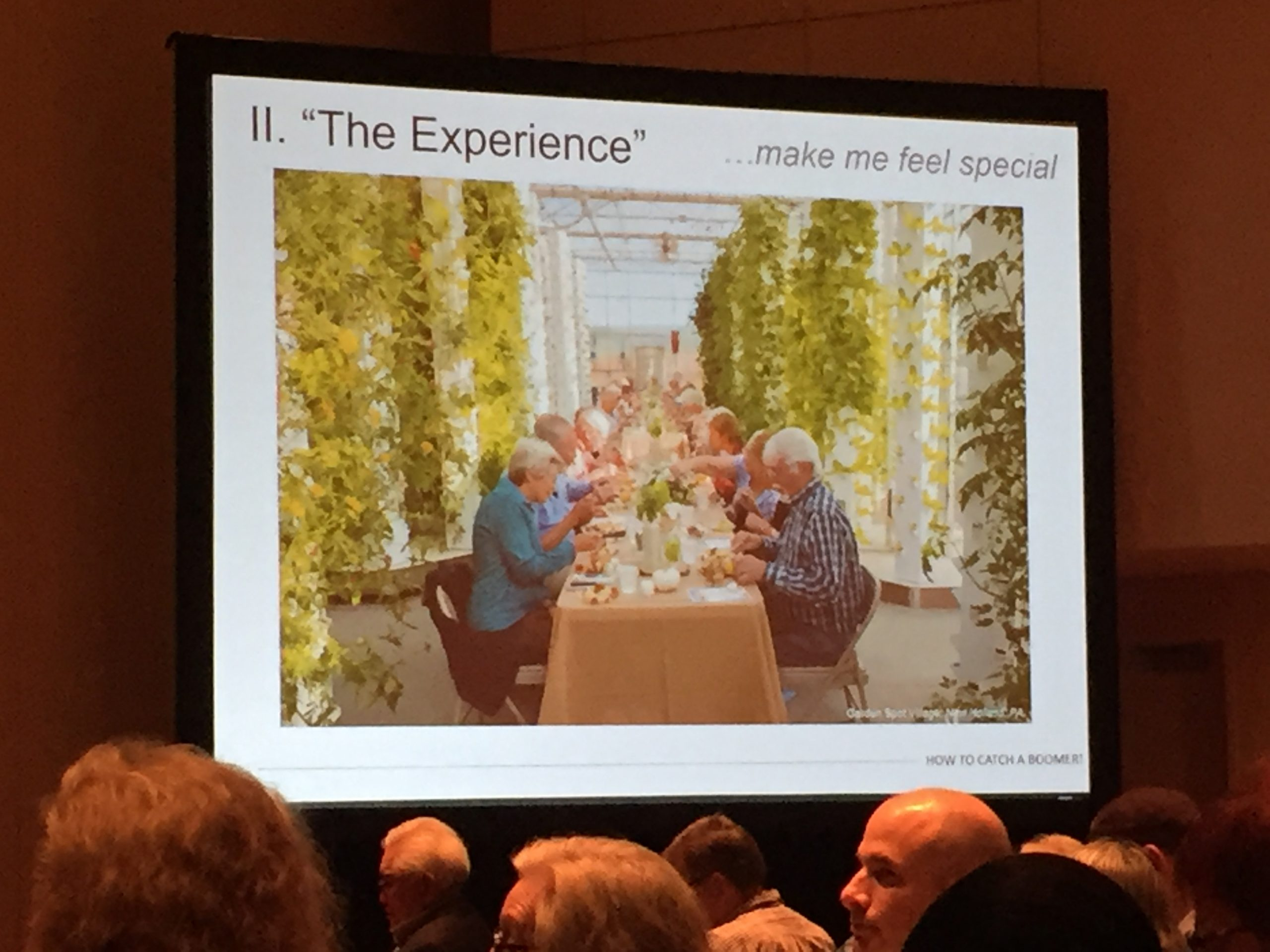 LeadingAge Annual Meeting 2016 - dining is one way to create an experience that attracts boomers to senior living