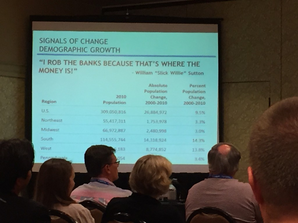 Demographic growth - Signals of change - LeadingAge PA 2015 conference