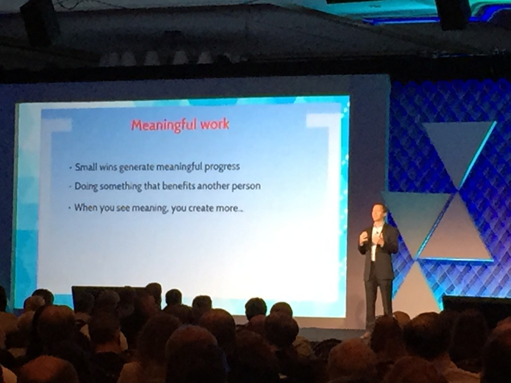 Tom Rath - attributes of meaningful work - LeadingAge PA 2015 Conference