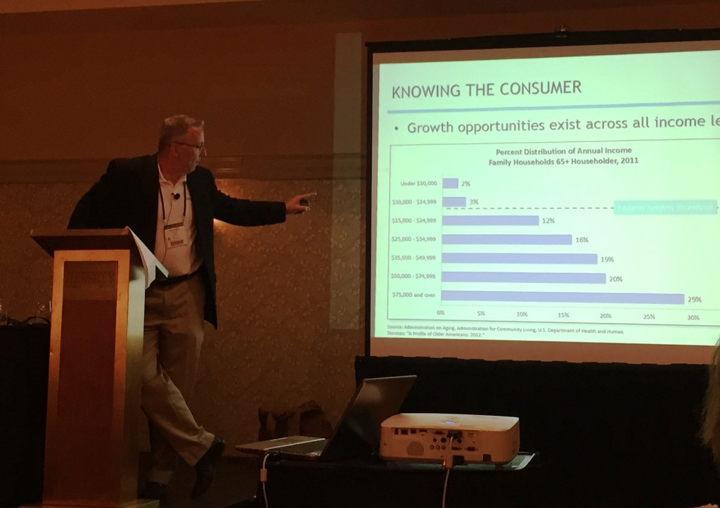 Steven Jeffrey, Ziegler - growth opportunities with middle income seniors