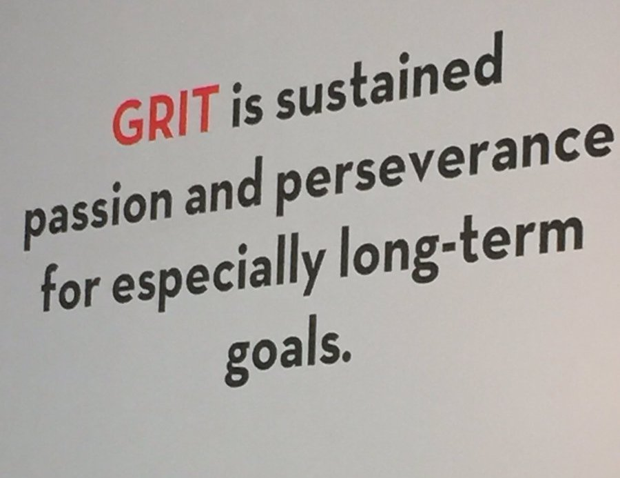 Angela Duckworth's formula for grit: sustained passion and perserverance for especially long-term goals