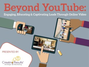 Creating Results' senior living marketing experts to talk about video at LeadingAge Conferences.
