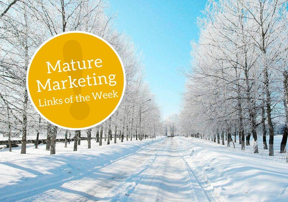 Mature Marketing Links of the Week: Changes and Stratagems