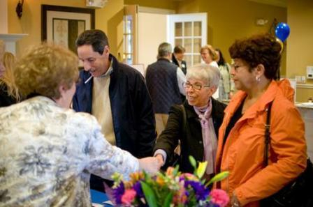 Traditions of America events for over 55 home buyers.