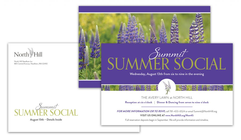 North Hillil Direct Mail - Summit Club Invite 2014