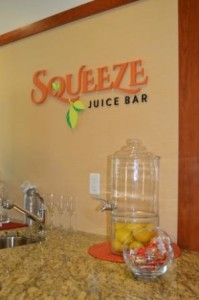 The Juice Bar at North Hill senior living (Needham, MA)