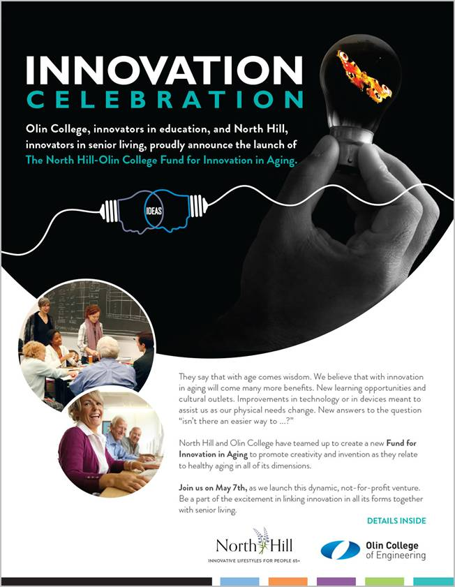 North Hill Continuing Care Community and Olin College Innovation Fund