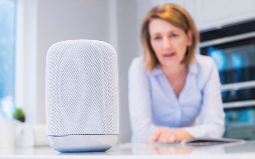 Voice-Activated Technology and 55+ and Senior Living Communities