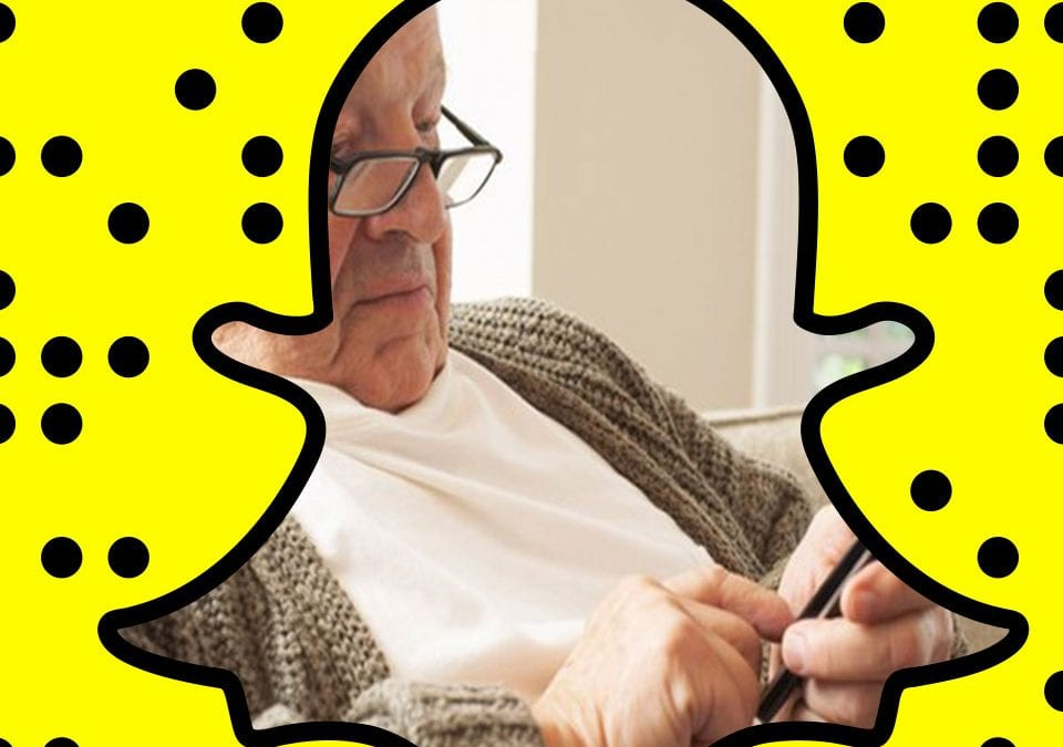 Should You be Using Snapchat to Market to Seniors?