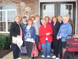 Seniors spend money on travel, including travel with grandchildren or girlfriends.
