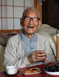 Jiroemon Kimura - world's oldest man
