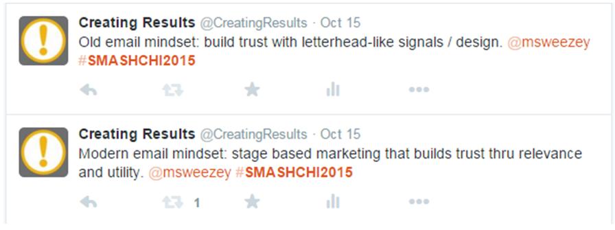 Matthew Sweezey - modern email mindset, SMASH 2015