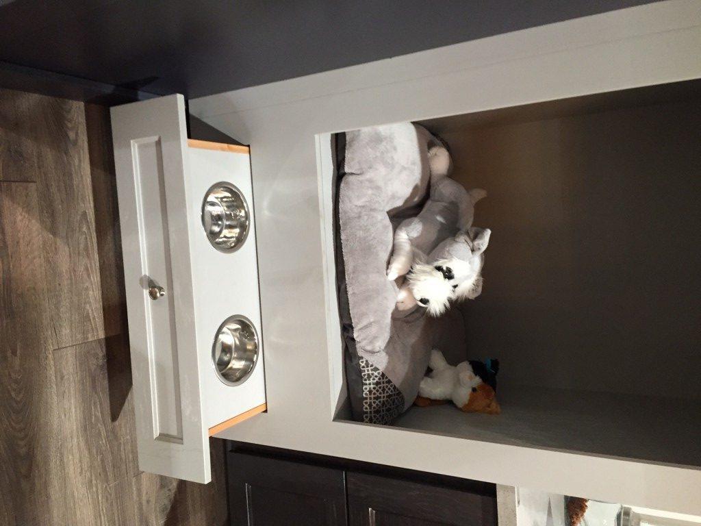 Kitchen pet center seen at the 2016 International Builders Show