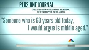 Quote on aging from NBC TODAY Show