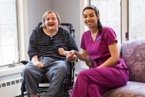 LeadingAge Massachusetts presentation: St. Joseph's Rehabilitation student and resident