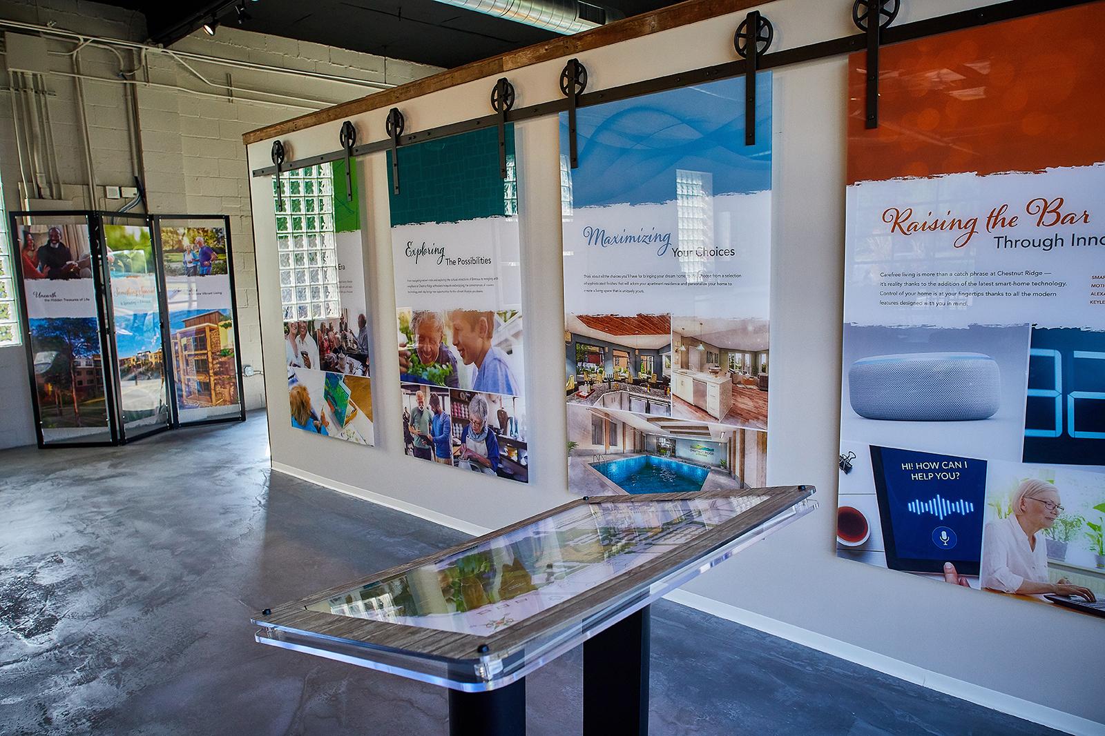 Chestnut Ridge Welcome Center Displays